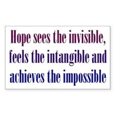 Impossible Hope Decal