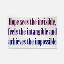 Impossible Hope Rectangle Magnet (10 pack)