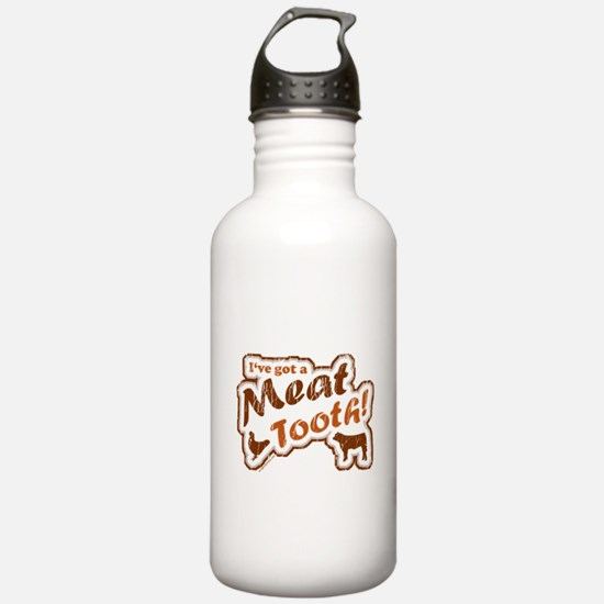 Meat tooth Water Bottle