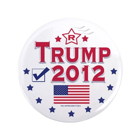 "Trump 2012 3.5"" Button (100 pack)"
