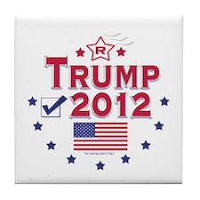 Trump 2012 Tile Coaster