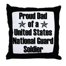 Proud NG Dad Star Throw Pillow