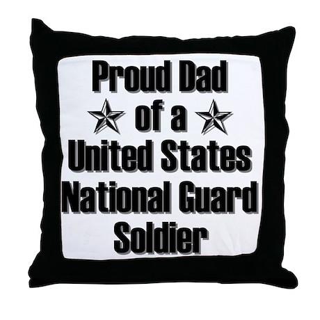 Proud NG Dad Star Throw Pillow
