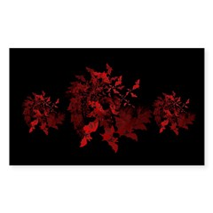 Fibonacci Bats Red Decal