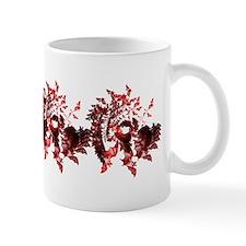 Fibonacci Bats Red Mug
