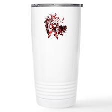 Fibonacci Bats Red Travel Mug