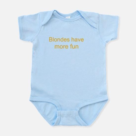 Blonde Fun Infant Bodysuit