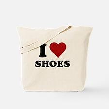 I heart shoes Tote Bag