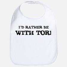 With Tori Bib