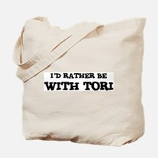 With Tori Tote Bag