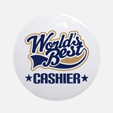 Cashier Ornament (Round)