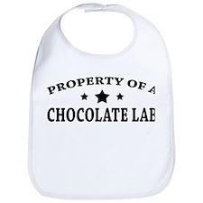Property of Chocolate Lab Bib