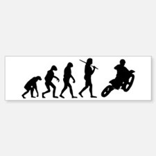 The Evolution Of Motorcross Sticker (Bumper)