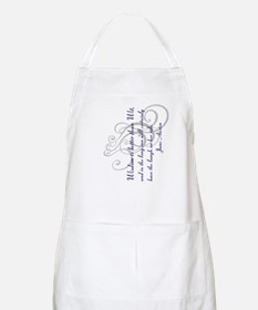 Wisdom is better than Wit Apron