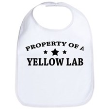 Property of a Yellow Lab Bib