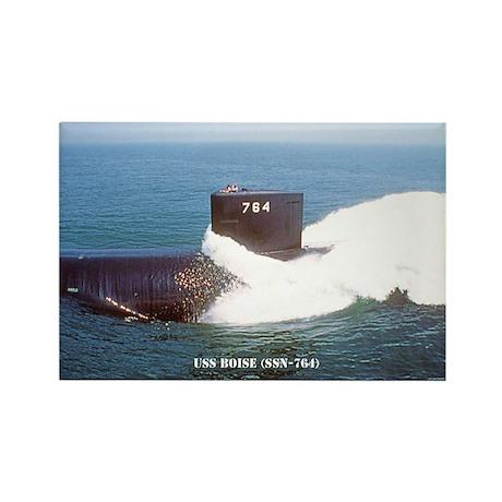 USS BOISE Rectangle Magnet