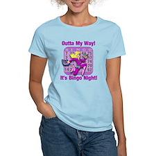 Outta My Way! It's Bingo Night! T-Shirt