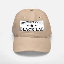 Property of a Black Lab Baseball Baseball Cap