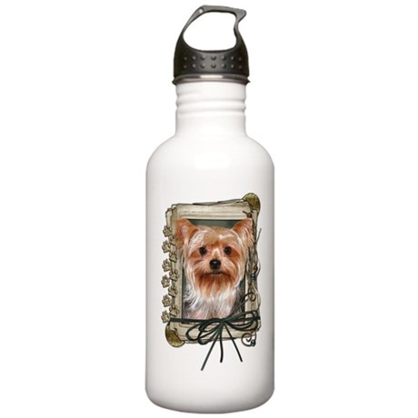 Fathers Day - Stone Paws Stainless Water Bottle 1.