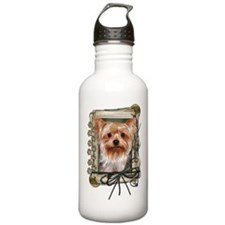 Fathers Day - Stone Paws Water Bottle