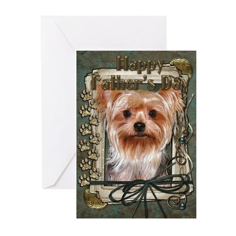 Fathers Day - Stone Paws Greeting Cards (Pk of 10)