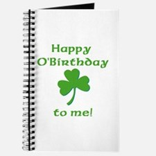 Happy O'Birthday!! Journal
