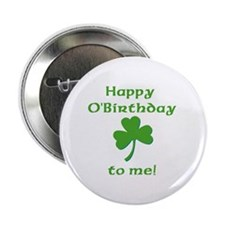 Happy O'Birthday!! Button