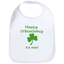 Happy O'Birthday!! Bib