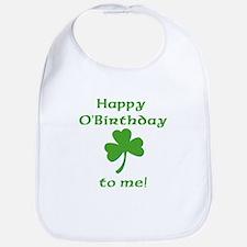 Happy O'Birthday!! Bib