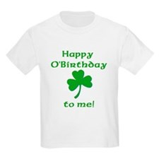 Happy O'Birthday!! Kids T-Shirt