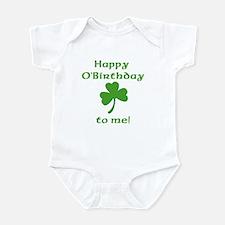 Happy O'Birthday!! Infant Creeper
