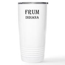 Indiana Travel Coffee Mug