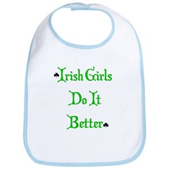 Irish Girls Bib