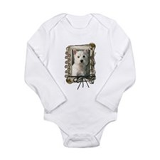 Father's Day - Stone Paws Long Sleeve Infant Bodys