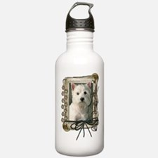 Father's Day - Stone Paws Water Bottle