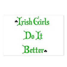 Irish Girls Postcards (Package of 8)
