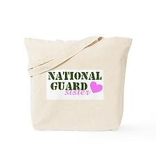 NG Sister Green & Pink Heart Tote Bag
