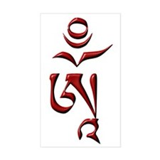 Tibetan Om Decal