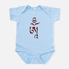 Tibetan Om Infant Bodysuit