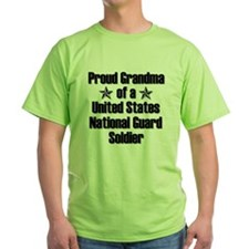 Proud NG Grandma Star T-Shirt