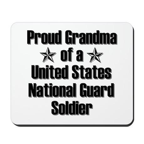 Proud NG Grandma Star Mousepad
