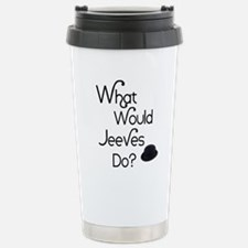 What would Jeeves do? Travel Mug