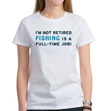 Retired Fishing Gag Gift Tee