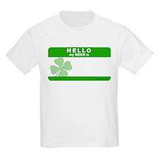 Hello My Beer Is Kids T-Shirt