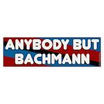 Anybody But Bachmann bumper sticker