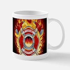 FLAMING FIRE RESCUE Mug