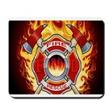 Firefighter Mouse Pads