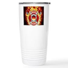 FLAMING FIRE RESCUE Travel Mug