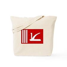Jammu and Kashmir Flag Tote Bag