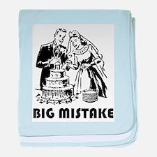 Big Mistake baby blanket